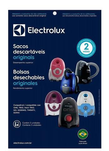 Imagem de Saquinho Para Aspirador Sbeon Electrolux One Dt30bgbr001 C/3