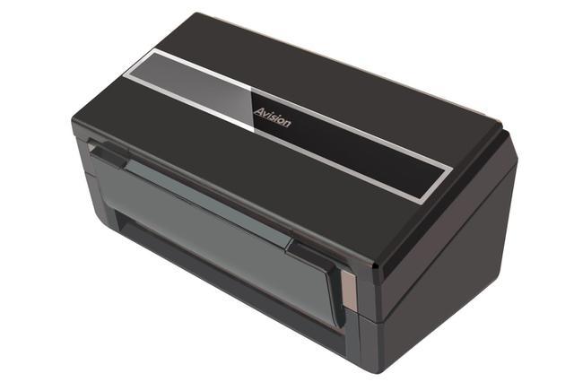 Imagem de Scanner Avision AD280 para Documentos A4 - Velocidade de 80 páginas por minuto