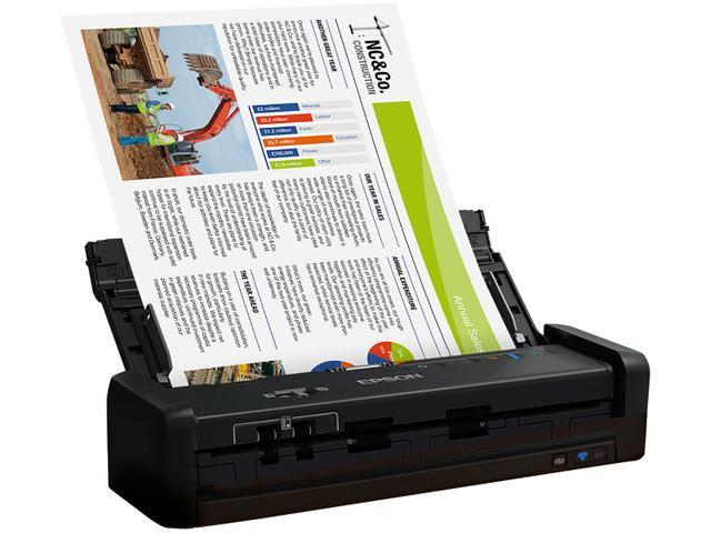 Imagem de Scanner Portátil Epson WorkForce ES-300W Colorido