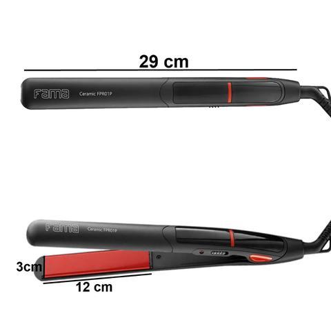 Imagem de Secador De Cabelo Gama Italy 2300 Ion Pro Quente Frio Preto + Chapinha Cerâmica 230c