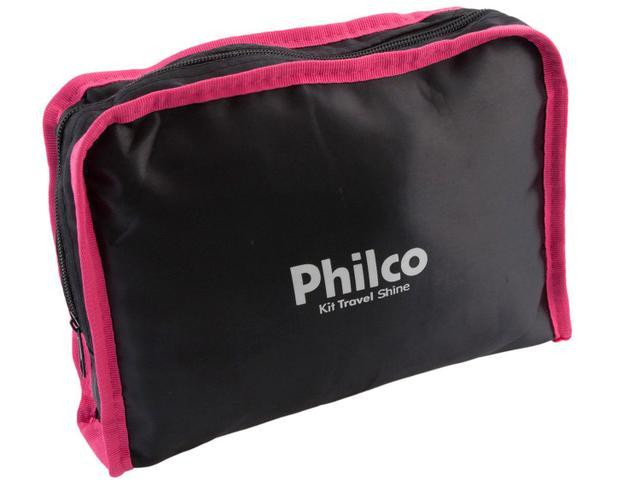 Imagem de Secador de Cabelo Philco Kit Travel Shine com Íons