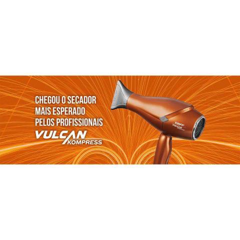 Imagem de Secador de cabelo profissional taiff vulcan kompress 2400w - 220v