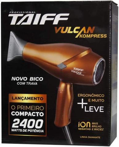 Imagem de Secador de Cabelo Profissional Vulcan Kompress 2.400W Taiff 220v