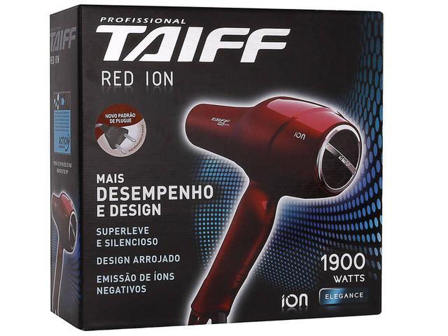 Imagem de Secador de Cabelo Taiff Red com Íons
