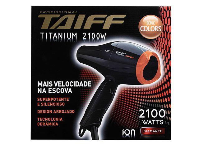 Imagem de Secador de Cabelo Taiff Titanium Colors