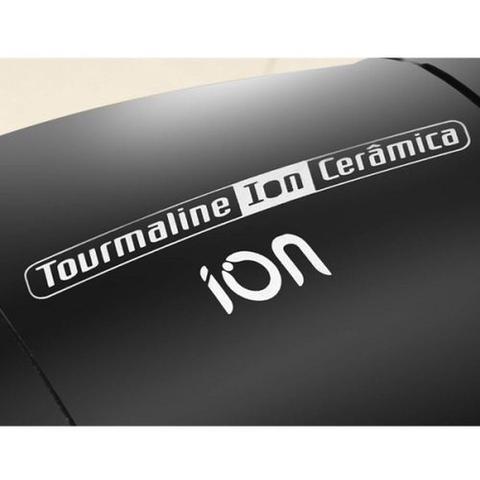 Imagem de Secador de Cabelo Taiff Tourmaline Ion Ceramica, 3 Velocidades 2000w - Preto- 127v