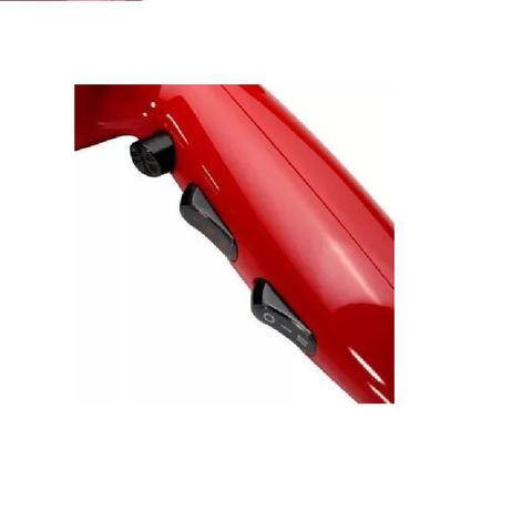 Imagem de Secador de Cabelos Profissional Gama Vibrant Ar Quente Frio 2000W Vermelho 127V
