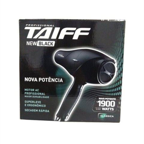 Imagem de Secador de cabelos Taiff  New Black 1900w