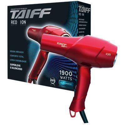 Imagem de Secador de Cabelos Taiff Red Íon Motor AC 110 volts