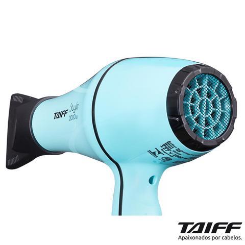 Imagem de Secador de Cabelos Taiff Style Tiffany Motor AC Profissional 2000W Azul