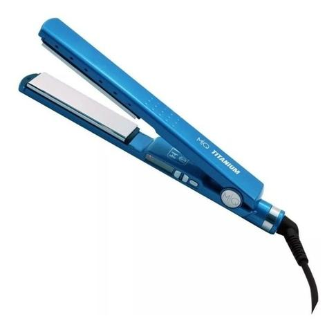 Imagem de Secador Mq Falcon Rosê 110v + Prancha Mq Titanium Azul