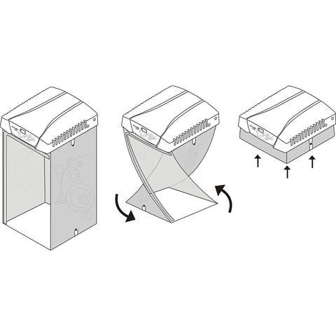 Imagem de Secadora de Roupas Soleil 8kg Mueller 220V Branco
