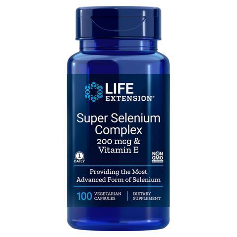 Imagem de Seleniüm Selênio Complex 200Mcg e Vit E 100 Caps Life Extens