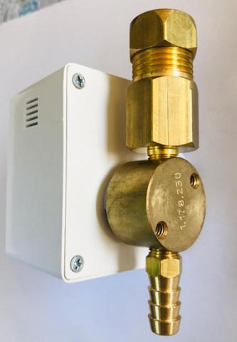 Imagem de Sensor de Vazamento de Gás com Válvula de Bloqueio