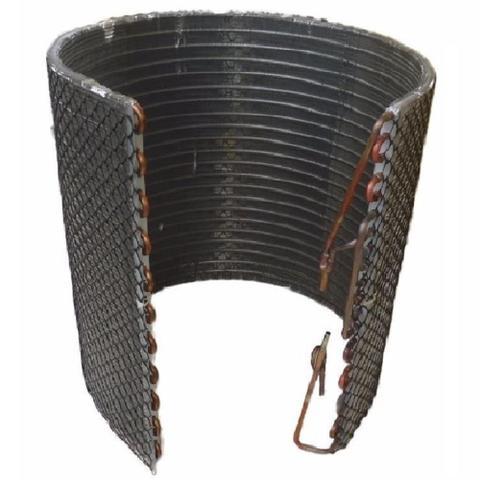 Imagem de Serpentina cobre condensador ar condicionado split midea carrier e springer  7000 9000 12000 btus