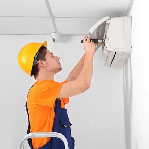 Imagem de Serviço de instalação de ar condicionado split cassete de 18000 a 30000 btus