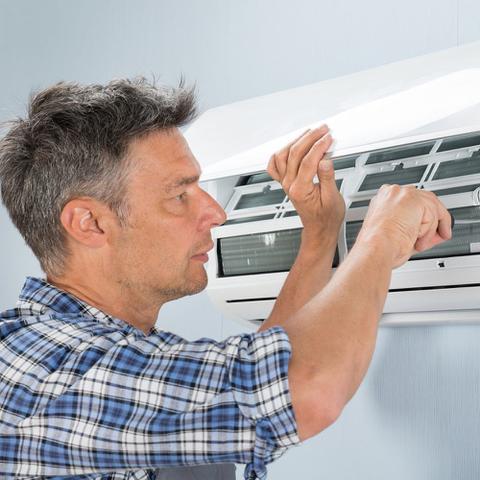 Imagem de Serviço de Instalação de Ar condicionado Split Piso Teto de 44000 a 80000 BTUs