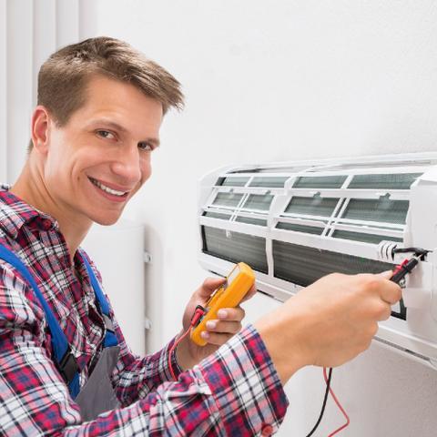 Imagem de Serviço de instalação de ar condicionado tri-split de 27000 a 36000 btus
