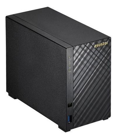 Imagem de Servidor de armazenamento backup nas as1002t v2 marvell dual core 1,6ghz 512mb ddr3 torre 2 asustor