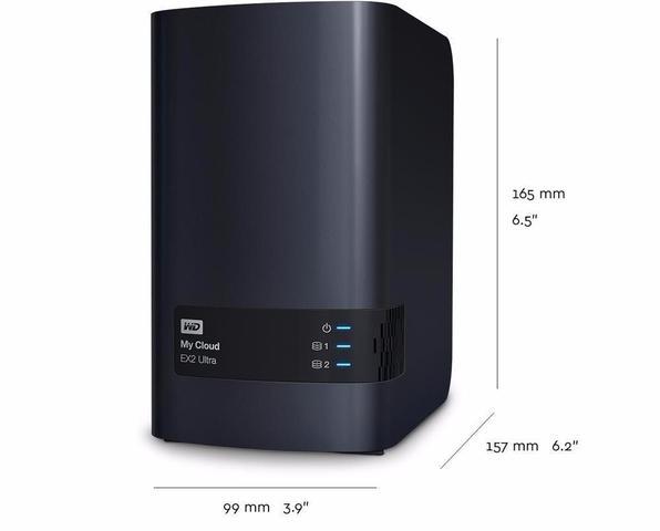 Imagem de Servidor Storage Nas Wd My Cloud Expert Ex2 Ultra Ate 20tb