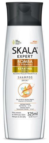 Imagem de Shampoo bomba de vitaminas keratina 325ml - skala