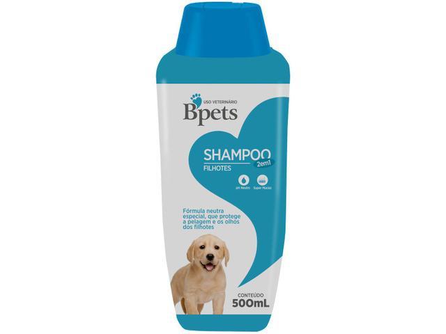 Imagem de Shampoo Cachorro e Gato Filhotes Bpets 2 em 1