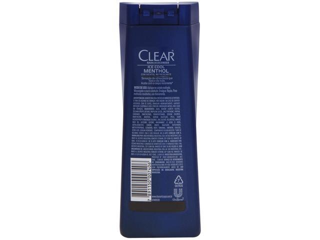Imagem de Shampoo Clear Anticaspa Ice Cool Menthol
