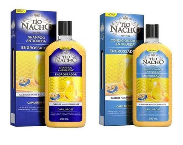 Imagem de Shampoo + Condicionador Tio Nacho Engrossador 200ml
