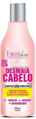 Imagem de Shampoo Desmaia Cabelo 500ml  Forever Liss
