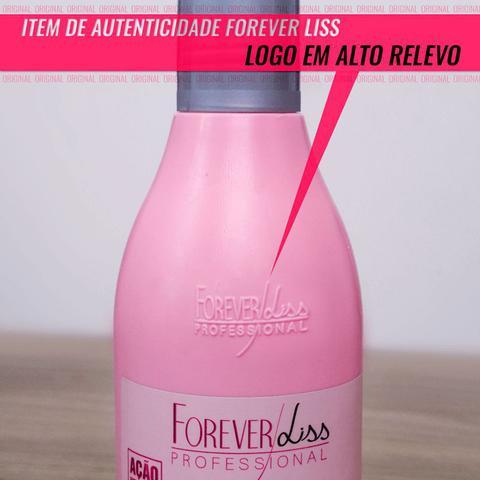 Imagem de Shampoo Desmaia Cabelo Forever Liss 500ml - Especial para cabelos ressecados, com frizz e volume