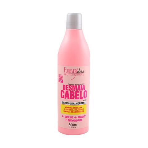 Imagem de Shampoo Forever Liss Desmaia Keratina Brasileira 500ml