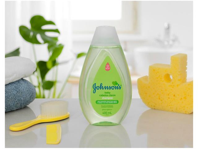 Imagem de Shampoo Johnsons Baby Cabelos Claros 400ml