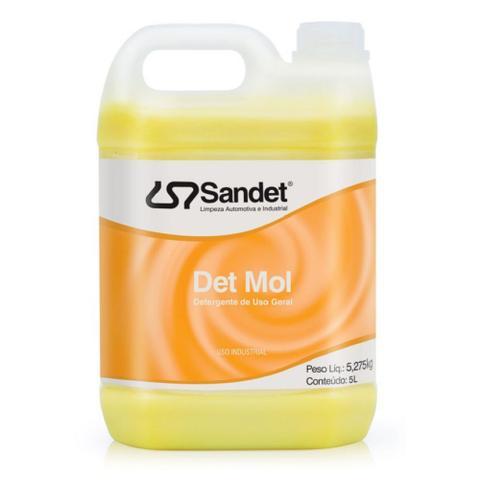 Imagem de Shampoo Lava Moto Det Mol - 5 Lts Sandet Concentrado Sandet