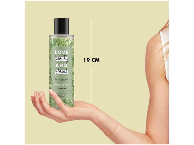Imagem de Shampoo Love Beauty and Planet  - Energizing Detox Óleo de Malaleuca & Vetiver 300ml