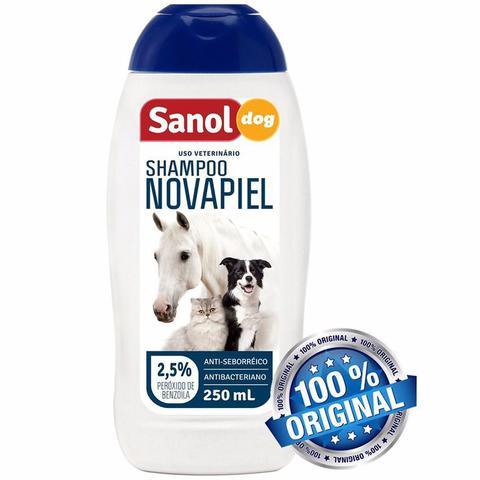 Imagem de Shampoo Novapiel Sanol Dog 500 Ml Cães Gatos E Cavalos