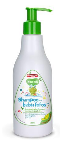 Imagem de Shampoo para Bebê com Keratina Vegetal Sem Sal Bioclub