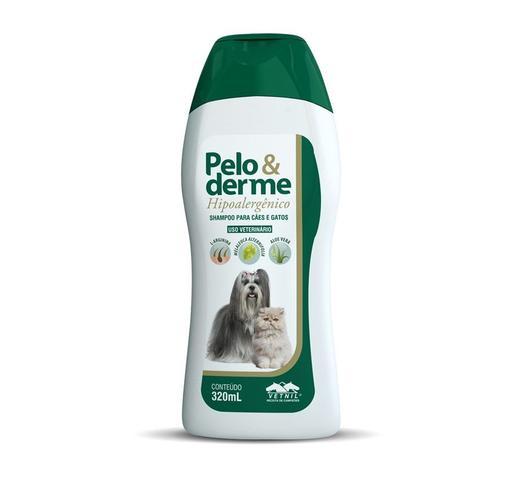 Imagem de Shampoo Pelo amp Derme Hipoalergênico 320ml