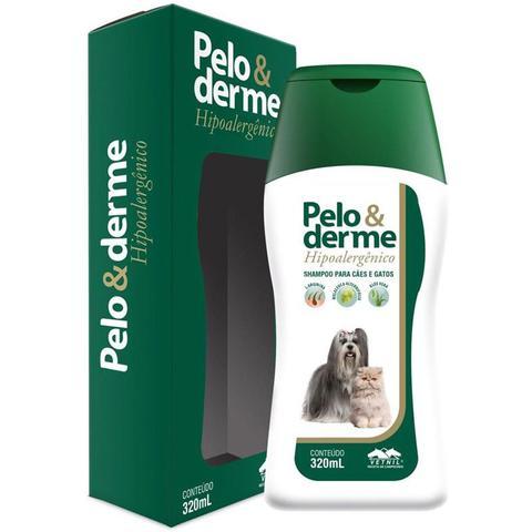 Imagem de Shampoo Pelo E Derme Hipoalergênico Cães E Gatos 320ml