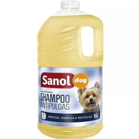 Imagem de Shampoo sanol dog antipulgas 5 lts