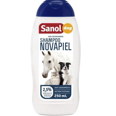 Imagem de Shampoo Sanol Novapiel para Cachorro e Gatos - 250ml