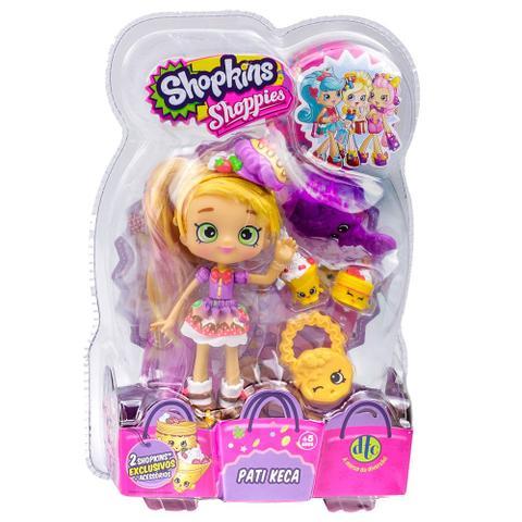 Imagem de Shopkins - Bonecas Shoppies Pati Keca 2 Shopkins Exclusivos  DTC 3735