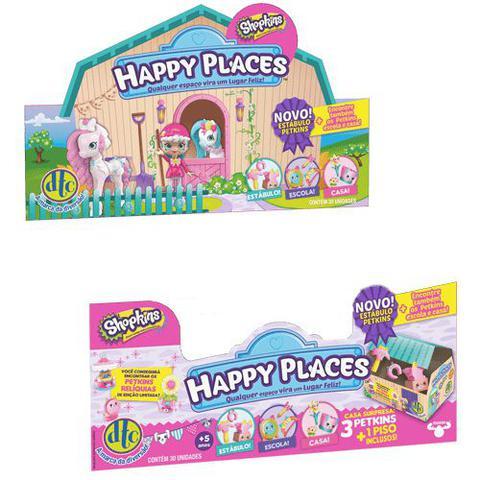 Imagem de Shopkins Happy Places Estábulo  Display C/ 30 Box Surpresa DTC