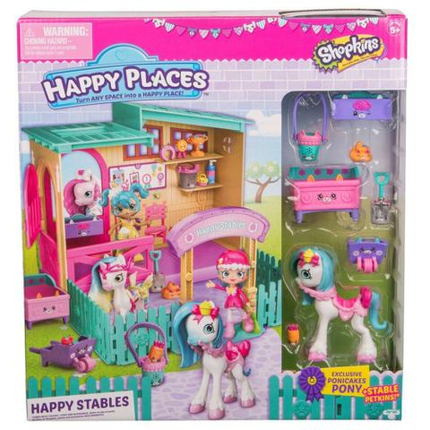Imagem de Shopkins Happy Places Happy Estábulo - DTC