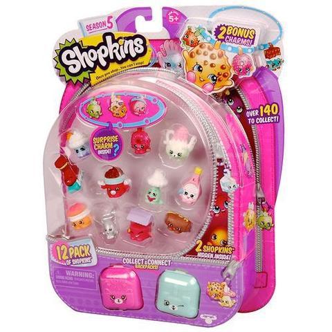 Imagem de Shopkins Série 5 - Kit Com 12 Shopkins Dtc