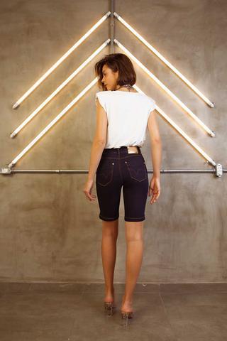 Imagem de Short Feminino Adulto Jeans Ciclista Romanee Ref:850000