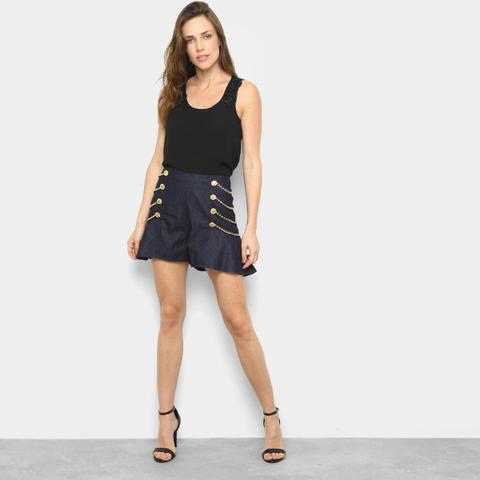 Imagem de Short Jeans Lança Perfume High Skirt Feminino