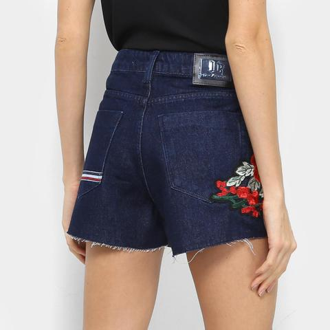 Imagem de Short Jeans Lança Perfume High Slim Comfort Feminino