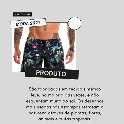 Imagem de Short Mauricinho Moda Praia 10 Peças Baratas Atacado Revenda