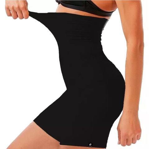 Imagem de Shorts Cintura Alta Cinta Modeladora de Altíssima Compressão - Slim Fitness