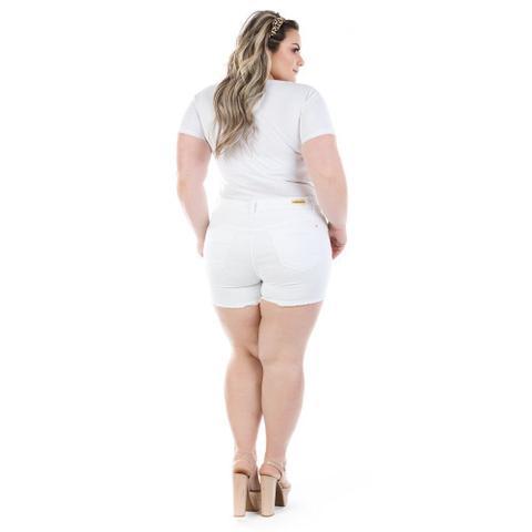 Imagem de Shorts Jeans Feminino Curto Munich Color Plus Size